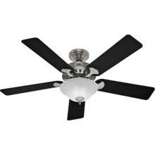 Hunter Fan 21433 Sonora Energy Smart 1 Light 5 Blade Ceiling Fan in Antique Pewter