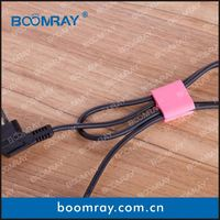 Hot Sale High Quality TPR Cable Winder Clip Rubber Holder Clamp red hot ink roll/hot ink roll