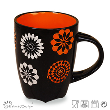 round ceramic cheap color glaze stoneware mugs