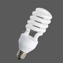 half spiral 26w energy saving light/lamp tube diameter D58mm/T4