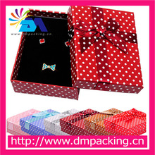 Dots jewelry display boxes for earring necklace sets