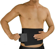 Adjustable neoprene waist trimmer belt brace