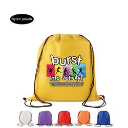 Big custom nylon drawstring bag manufacturer