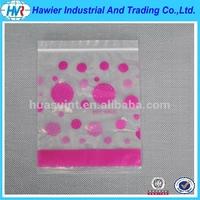 Food grade biodegradable HDPE plastic clip seal bag