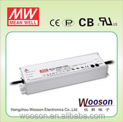 Original HLG-240H-36(240w 36v output) CE CB TUV PSE cUL Dimmable led driver