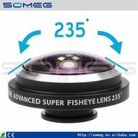 Professional 0.4x super wide angle lens wide angle lens for samsung galaxy s4 mini fisheye lens with CE certificate