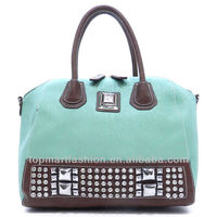 2014 new collection lady tote bags and Rhinestone Silverake Satchel