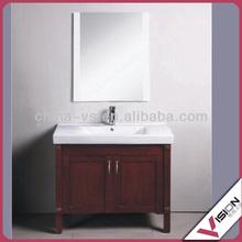 European style laminated bathroom vanity, free paint