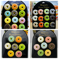 Promotional gift plastic donuts pu stress toys