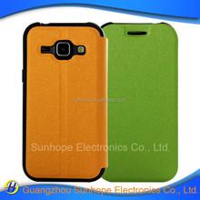 wholesale tpu pu leather flip type wallet case for Galaxy J1 J100