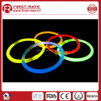 8''Party Supplies Light up Glow Sticks for Making Glow Bracelet, Necklace, Mix Neon Color