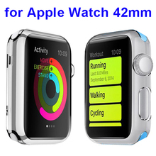 Protective Translucent PC Hard Cover Case for Apple Watch 42mm