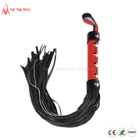 Cheap Leather Sex Whip , Sex Products Manufacturer direct price