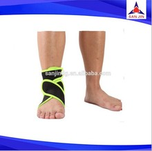 Ankle Foot Elastic Compression Wrap Sleeve Bandage Brace Support Protection