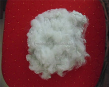 100% Recycled 3D*51MM Raw white Hollow conjugated two-dimensional Polyester staple fiber for filling and spinning