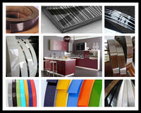 Decorative pvc edge banding for kitchen cabinet and mdf door