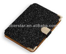 Rhinestone Diamond Bling Leather Case for iPad mini 2 With Retina