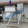 SPX anti-corrosive polypropylene compound mixer for refractories