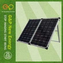 Mono Foldable solar pv panel for 250kw solar battery pack