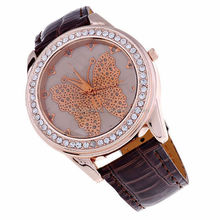New women japan movt quartz watch set stone wrist watch