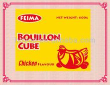 10g Halal Chicken Cube/ Bouillon Cube/ Seasoning Cub