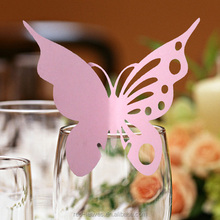 EC1108-04 Place card butterfly designs for wedding