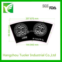 Tuoler one side pe coated double a paper company