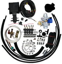 Chengdu car auto parts diesel cng lpg fuel conversion kit for sale