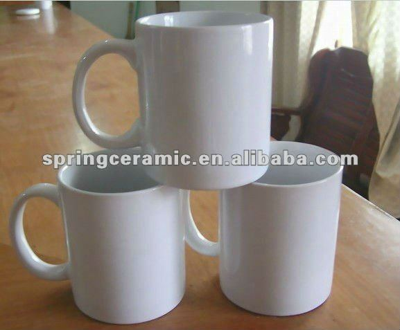 โปรโมชั่นธรรมดาสีขาวเซรามิกแก้วและถ้วย