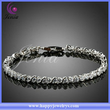 New arrival top selling 18k gold plated sunshine crystal ladies bracelet models (PH064)