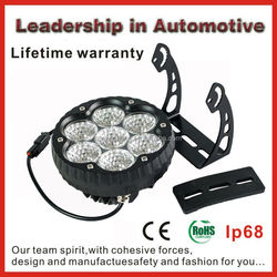 Lifetime warranty 6.5 inch 70w cree led work light 70w led light bar for car,truck,4WD,boat,tractor,work light