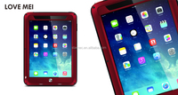 2015 Love Mei Protective Waterproof Shockproof Case Dirtproof Strong Aluminum Metal Case Cover for iPad Air