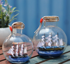 WOODEN SAILING SHIP IN A BOTTLE - YORK ENGLAND - NEW