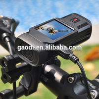 Gaodi Bicycle spare part full hd 1080p Action camera recorder with bicycle support mount