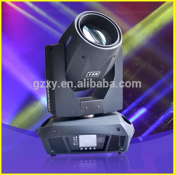 guangzhou Sharpy 330w 15R fascio di luce in movimento la testa per il concerto