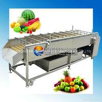 ~Manufacturer~ HP-360 Fruit Washing Machine, High Pressure Water Spray, Brush Rollers (100% stainless steel)...Nice!