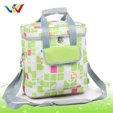 Encryption Oxford cloth cute travel cooler bag