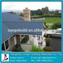 High quality Architectural fiberglass asphalt roof tile for Maldives resort