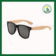 Black matte sunglasses plastic wood sunglasses