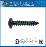 Made in Taiwan M3.5x16 Galvanized Cross Slotted Pan Head Harden Self Tapping Screws