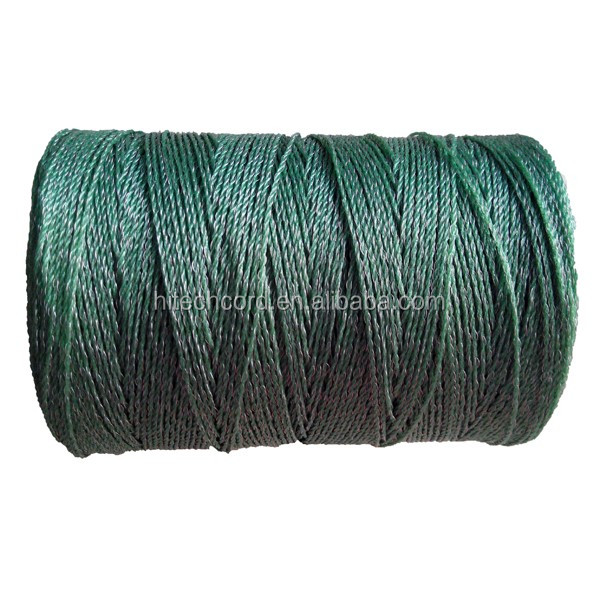 Green color electric fencing rope.jpg