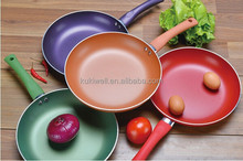 24cm color non-stick coating fry pan