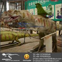 Hot Sale Amusement Park Rides Of Animatronic Dinosaur