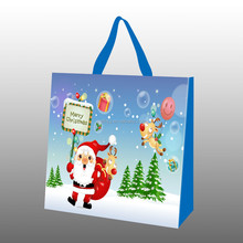 eco friendly Christmas bag non woven Christmas gift bag