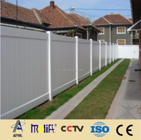 2015 AFOL Outdoor Composite Decorative Gothic Fence Pickets
