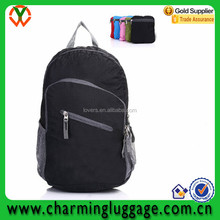 Lightweight outdoor hiking daypack ripstop nylon backpack