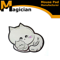 cheap cute shape gaming laptop mouse pad
