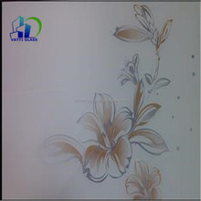 silkscreen printing glass/screen printing glass table/silk printing glass