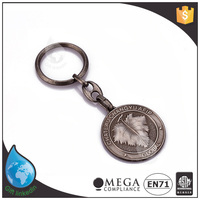 Factory customized new style cosmetic mirror key chain