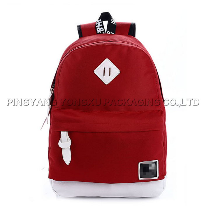 latest low price wholesale school backpack bags for man